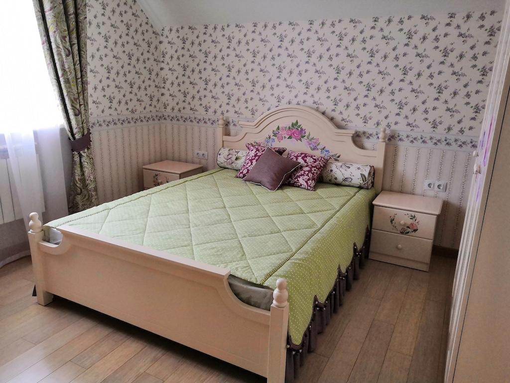Париж кровать эмаль с росписью