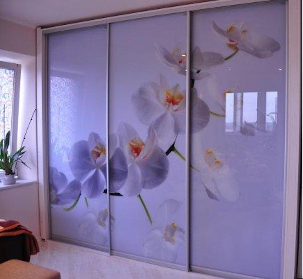 купе фотопечать орхидея